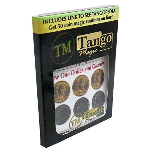 Tango Magic - Hopping half nuevo dólar y cuarto de dolar (d0126)