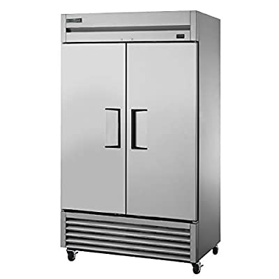 """True TS-43F-HC 47"""" Two Section Reach-In Freezer, (2) Solid Doors, 115v"""