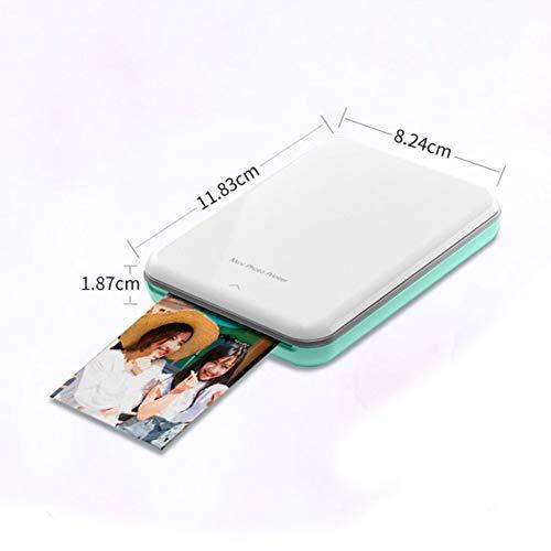TINERS Imprimante Bluetooth Thermique Portable Mini Impression Couleur De Haute Qualité sans Fil POS Imprimante Photo Thermique Imprimante Photo pour Téléphone Mobile