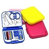 HEALLILY 4 Set Kit de Costura Suministros de Costura Diy Accesorios de Costura de Emergencia para Acampar en Casa