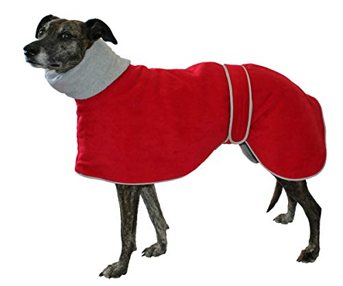 Cosipet Greyhound Polo pour lévrier Rouge 76 cm
