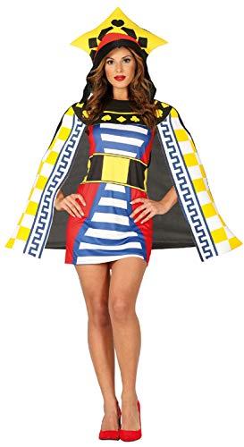 Fancy Me Damen Spielkarte Queen Casino Las Vegas Junggesellinnenabschied Party Kostüm Outfit