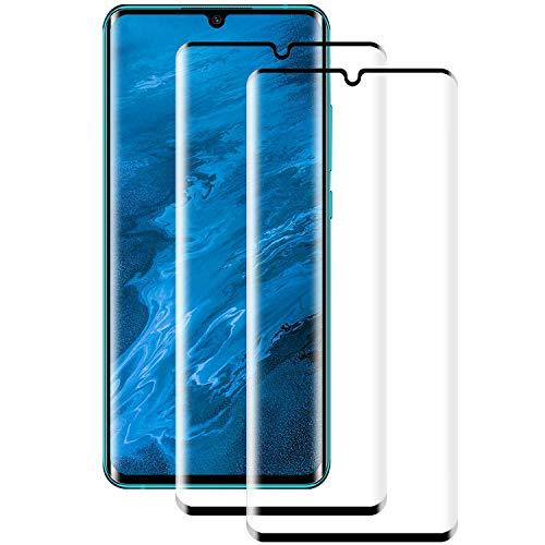 PUUDUU [2 Stück] Panzerglas Schutzfolie für Xiaomi Mi Note 10/Note 10 Pro/Note 10 Lite [9H Härte][Anti-Kratzer] Displayschutzfolie für Mi Note 10/Note 10 Pro/Note 10 Lite