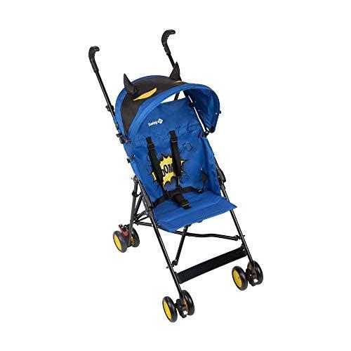 Safety 1st Buggy, Crazy Peps mit Lustigem Sonnenverdeck, Kompakter und Wendiger Kinderwagen, Ideal für Unterwegs, Nutzbar ab ca. 6 Monate - Bis max. 15 kg, Super Blue (blau)