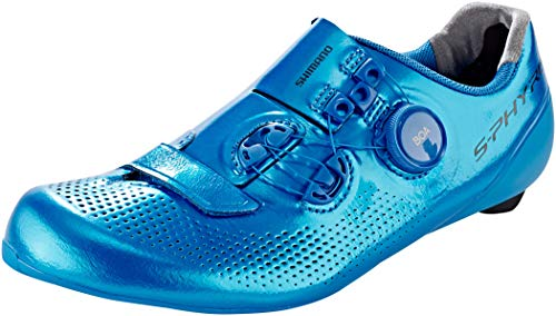SHIMANO S-Phyre Rc9 (Rc901) Track Spd-Sl Zapatos, azul, talla 41