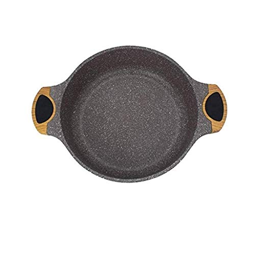XIUYU Aluminium Pan, Nonstick Fry Pan Coating, Bratpfannen Kochgeschirr aus, Maifan Stein Hotpot Klar Suppentopf