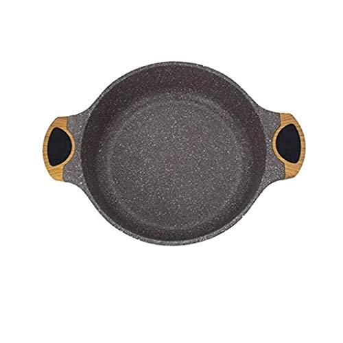 DHTOMC Aluminium Pan, Nonstick Fry Pan Coating, Bratpfannen Kochgeschirr aus, Maifan Stein Hotpot Klar Suppentopf Xping