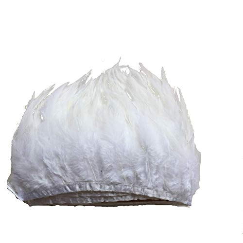 Top craft feathers white large for 2021