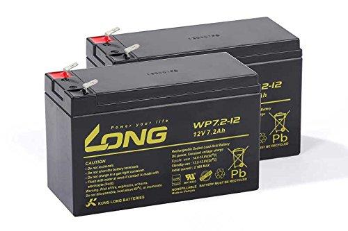 USV Akkusatz kompatibel MGE Pulsar ellipse 650 Premium AGM Blei Batterie UPS
