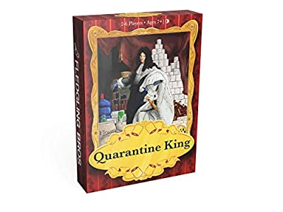 Quarantine King Card Game | Family-Friendly Party Game enjoyed by Adults, Teens, and Kids. Fun and Hilarious for Game Night!