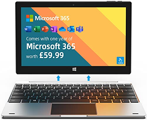 Jumper Touchscreen Laptop includes Microsoft 365, 11.6 Inch FHD Metal Body...