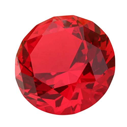 BESPORTBLE 60 Mm Diamante Acrílico Cristal Claro Diamantes Piedras Preciosas Decoración Diamantes...