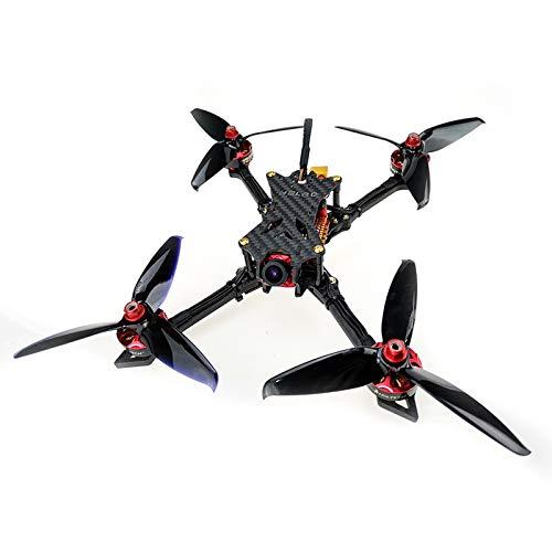HGLRC Batman220 5 inch FPV Racing Drone F7 Flight Controller 2306 2450KV Brushless Motor 5mm Carbon Fiber Aircraft Frame Kit 800mW VTX Video Transmitter Quadcopter
