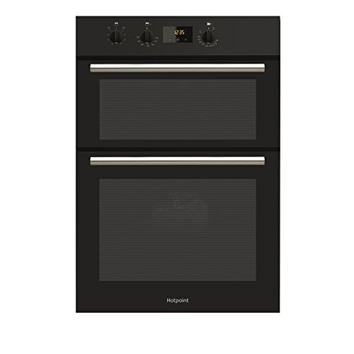HOTPOINT DD2540BL Wide Newstyle Electric Built In Double Oven - Black
