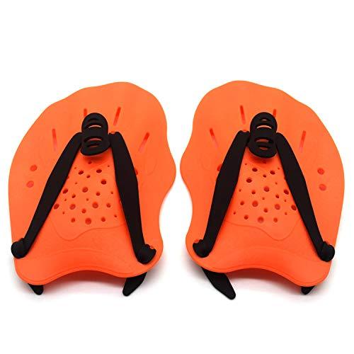 TNMV Unisex Hand Paddle, Professionale Swim Training Paddle Palette a Mano Power Paddles Nuoto Training Aid Large Flat Paddles Attrezzatura Subacquea