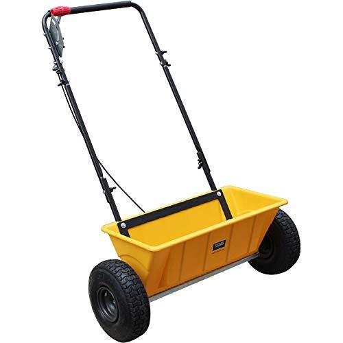 Texas Streuwagen Smart Spreader 200 Pro | Universalstreuer für Salz, Kies, Dünger, Saatgut | Fassungsvermögen 25 Liter | Arbeitsbreite 56 cm