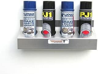 Pit Posse 4 Bottle Aerosol Oil Rack Shelf Holder