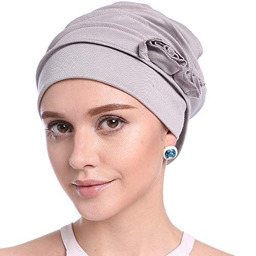 DOCILA Massive Baumwolle Chemo Cap Unisex Krebs Kopfbedeckung für Männer und Frauen...
