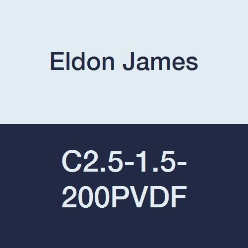 Eldon 5 ☆ very popular James C2.5-1.5-200PVDF Portland Mall Industrial Reduction Cou Kynar Gray