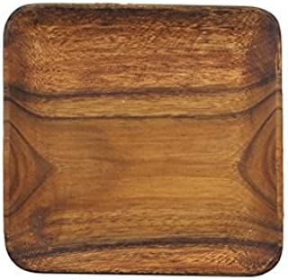 "Pacific Merchants K0061 Acaciaware 12-Inch Acacia Wood Square Serving Tray"", Natural"