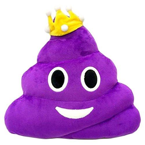 Emoji Vovotrade divertente émoticônes-Cuscino a forma di cuore, occhi Merde Cuscino a forma di bambola Toy Throw regalo A