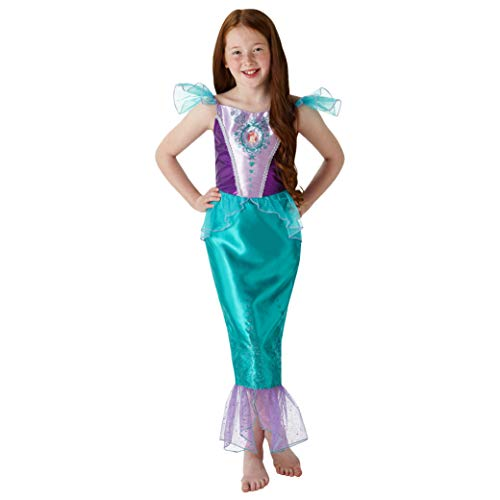 Rubies Official Disney Princess Ariel Disfraz de gema, Color verde, medium (640716M)