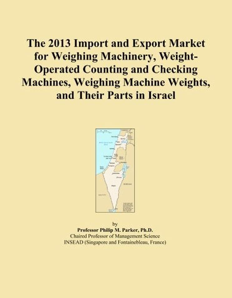 アンデス山脈ペンダント艦隊The 2013 Import and Export Market for Weighing Machinery, Weight-Operated Counting and Checking Machines, Weighing Machine Weights, and Their Parts in Israel