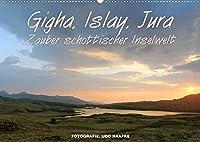 Gigha, Islay, Jura - Zauber schottischer Inselwelt (Wandkalender 2022 DIN A2 quer): Zauberhafte Impressionen von den Inneren Hebriden (Monatskalender, 14 Seiten )
