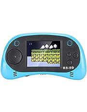 Garsentx Console de Jeu, 2,5 Pouces Mini Console de Jeu Portable Console Intégrée 260 Jeu Cassiques Contrôleur pour Enfants, Bleu.(Bleu)