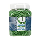 Tactical Force Premium Biodegradable 6mm Airsoft BBS Ammo.20 Gram, 10,000 Count