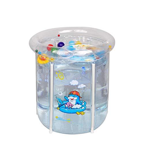 N-B Soporte Piscina Pequeña Bañera Inflable Sobre el Suelo Piscina Hogar Bebé Jugando P V C Juegos Niño Baño Accesorios Niño