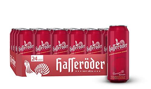 Hasseröder Premium Pils Dosenbier, EINWEG (24 x 0.5 l Dose), Pils Bier