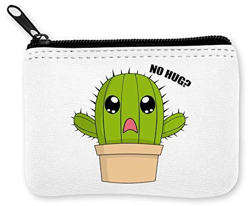 Hug Me Cactus Plant Modieus Grafische Munten Rits Portemonnee