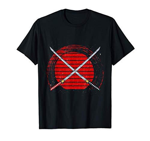 Japanisches Katana Schwert T-Shirt