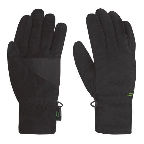 F-lite Head Accessoires Windbreaker Gloves Handschuhe, black, XS