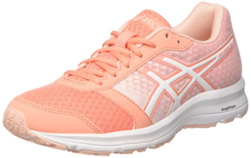 Asics Patriot 9, Zapatillas de Entrenamiento para Mujer, Rosa (Begonia Pink/White/Seashell Pi 0601), 39.5 EU
