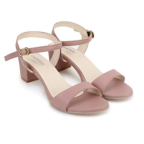 PINKWOOD Women Sandal Block Heel Price in India