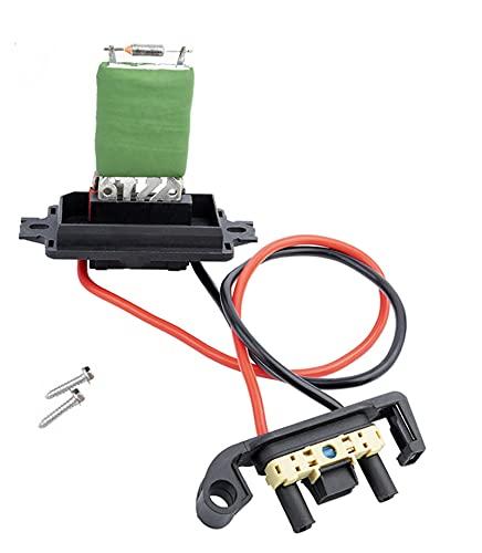 PUGONGYING Popular Nuevo 7701207717 El Mejor Ventilador de Resistencia al soplador del Motor del Calentador de la Mejor Calidad para Renault Megane MK II Durable (Type : Blower Motor)