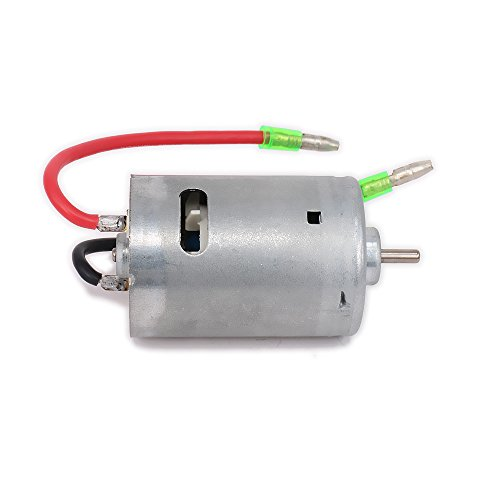 RCAWD Brushed Motor 540 Series Electric for 1/10 RC Hobby Model Car/Boat/Airplane Original Parts HSP Hi Speed Wltoys Tamiya Truck Buggy Car 03011 1Pcs