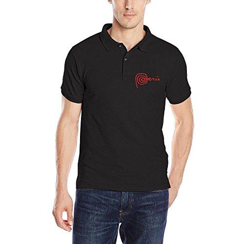 DAD97KHG Marca Peru - Blanco Mens Short Sleeves Polo T Shirt