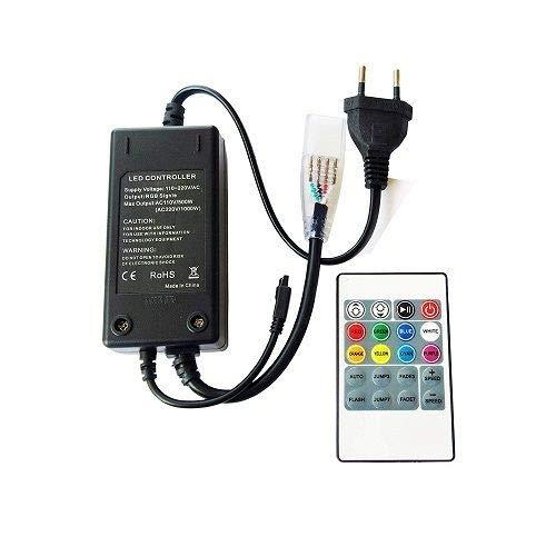 Controlador Tira LED RGB 220V con mando