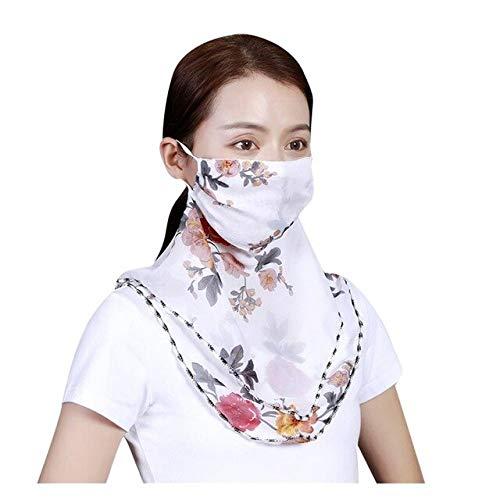 Head Scarf Women Foulard Femme Women Sun Chiffon Protection Scarf Dtproof Neck Scarf Protective Bandana бандана - 1017