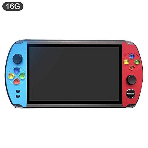 Consola de juegos portátil de juegos retro de 7 pulgadas, regalo de juguete de Navidad Regalo de año nuevo para niños y niños, ROM incorporada de 8G / 16G, soporte para expansión de tarjeta 32GTF