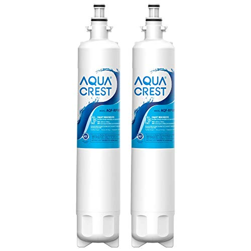 AQUACREST RPWF Refrigerator Water Filter, Compatible with GE RPWF (Not RPWFE), Pack of 2 (Packing May Vary)