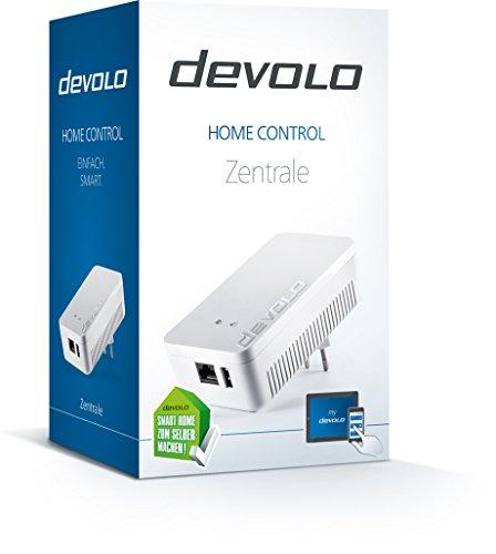 devolo Home Control Zentrale (Smart Home Steuereinheit, Z-Wave Hausautomation, intelligente Haussteuerung per iOS/Android App, Smarthome zum Selbermachen) weiß - 2
