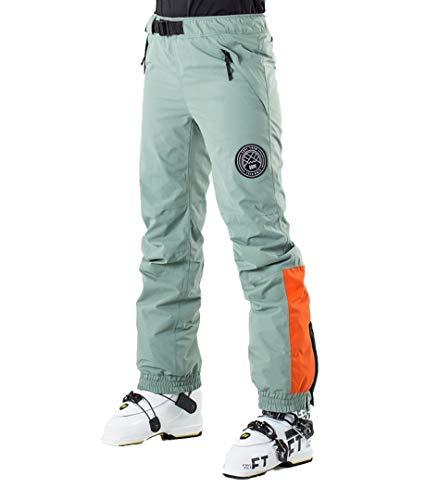 Dope Blizzard Damen Skihose Snowboard Hose grün orange Gr.M