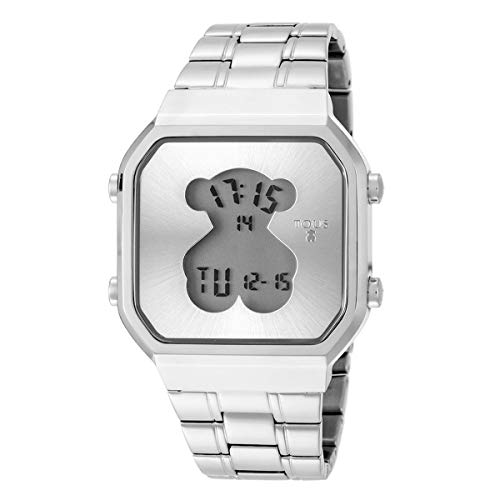 Reloj Tous D-Bear SQ de acero Ref:600350275 Mujer