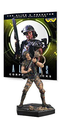 Eaglemoss Predator Figura colección # 3: Hicks de Alien Resina Figura Decorativa