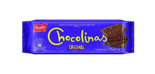 Chocolinas Galletas dulces sabor chocolate 170g