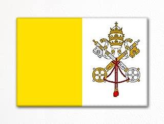 Vatican City Flag Rome Italy Fridge Magnet